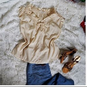Ruffle Silk Blouse by Marc Jacobs
